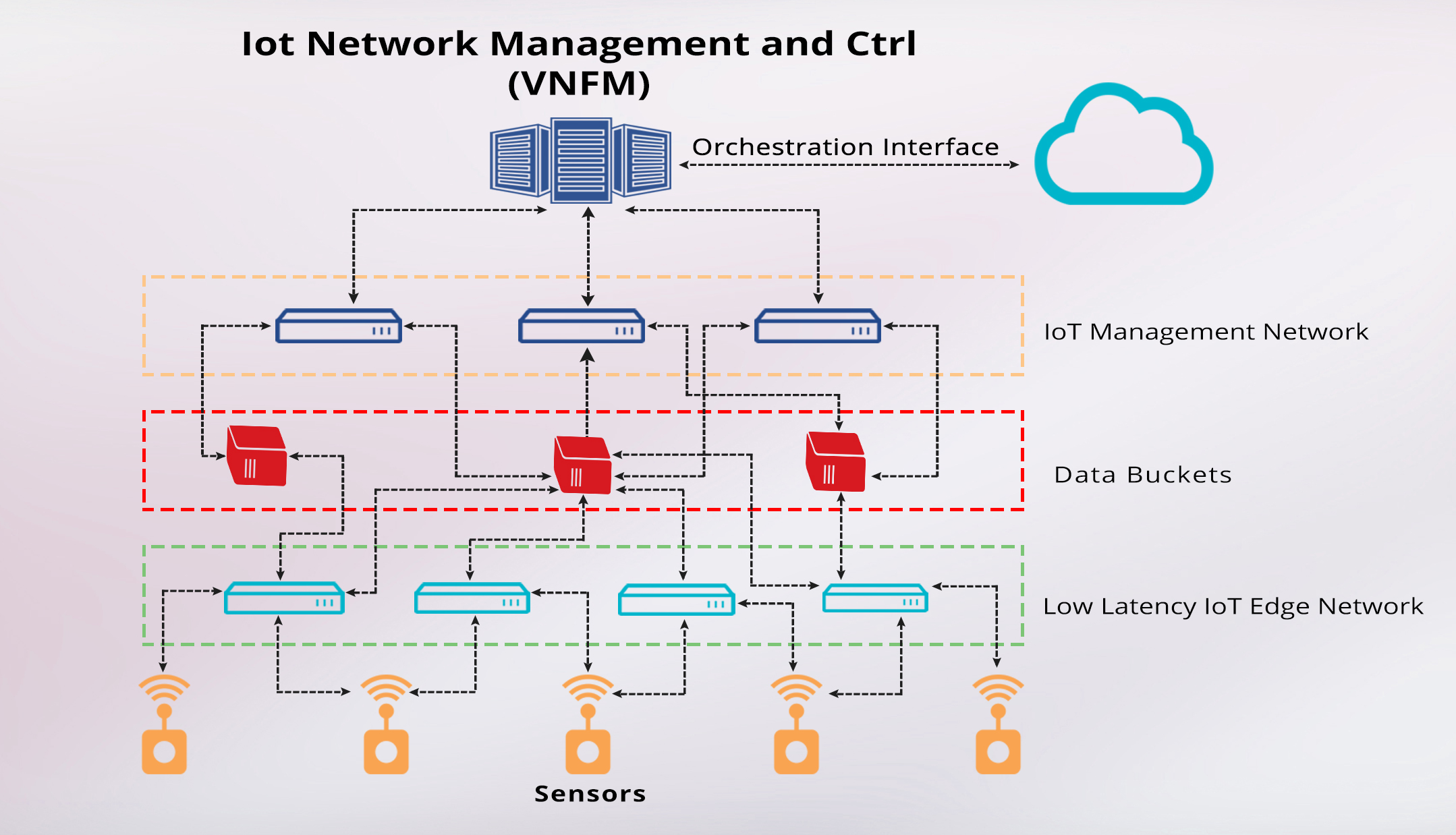 IoT Network Management and Control