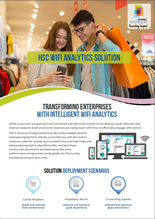 HSC WiFi Analytics Solution Brochure