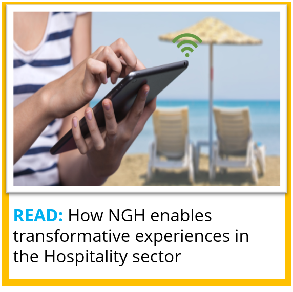How NGH enables transformative experiences in the Hospitality sector