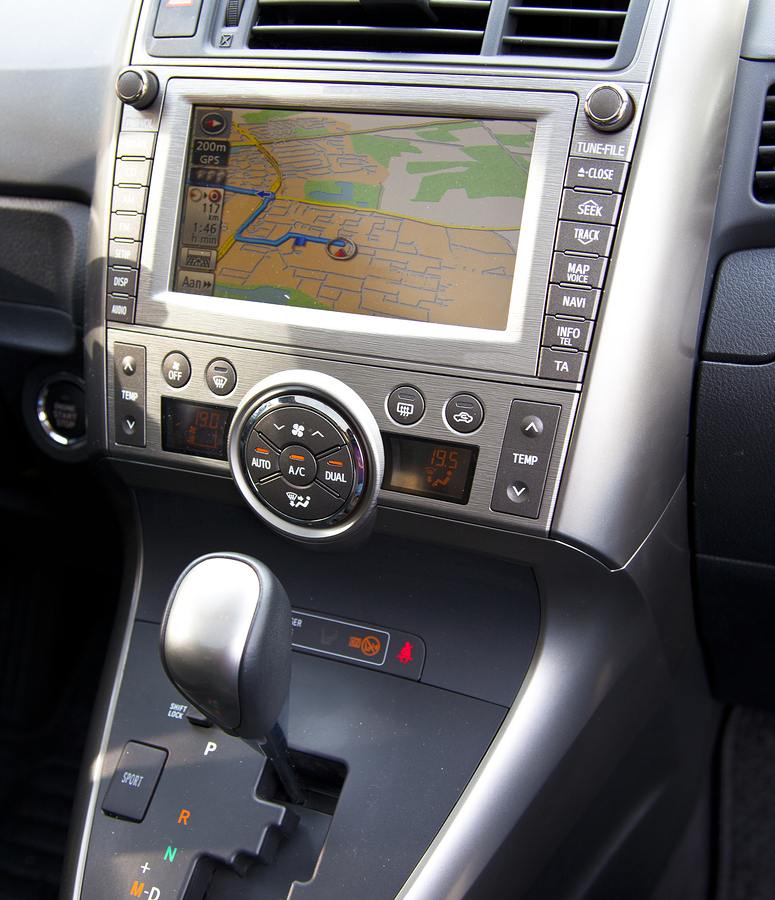 in dash navigation